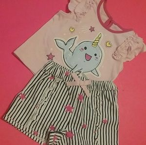 Two piece, 3-6 mos., , NWOT